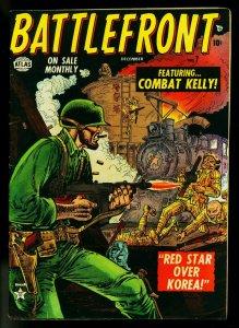 Battlefront #7 1952- Atlas War Comic- Joe Maneely- FAIR