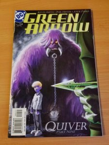 Green Arrow #9 ~ NEAR MINT NM ~ (2001, DC Comics)