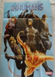 UNCANNY INHUMANS Promo Poster, 24 x 36, 2015, MARVEL, Unused more in our store 2