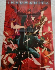 INHUMANITY Promo Poster, 24 x 36, 2013, MARVEL INHUMANS, Unused 289