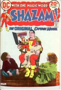 SHAZAM (1973) 6 VF-NM Oct. 1973 COMICS BOOK