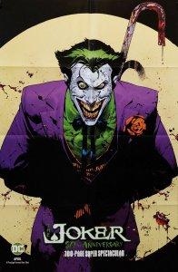 Joker 80th Anniversary Folded Promo Poster | Capullo (24 x 36) New! [FP40]