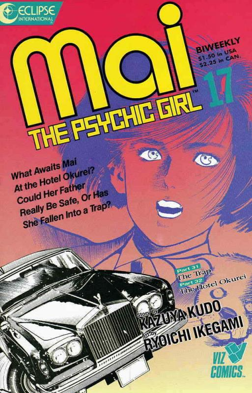 Mai, the Psychic Girl #17 VF/NM; Eclipse | save on shipping - details inside