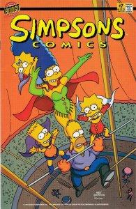 Simpsons Comics 7 NM-