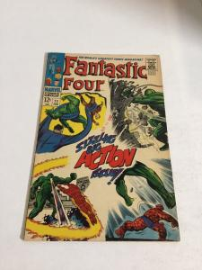 Fantastic Four 71 Vg+ Very Good+ 4.5 Marvel Comics Silver Age