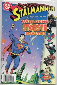 Stalmannen   (1999)   # 4 FN (Finnish Superman)