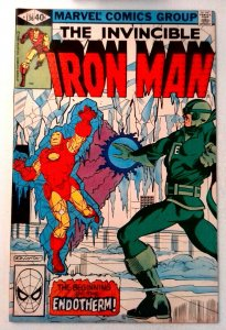 Iron Man #136 Marvel 1980 FN- Bronze Age Comic Book 1st Print
