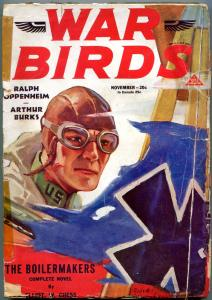 War Birds Pulp November 1931- Boilermakers- Arthur Barks FAIR