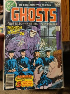 DC GHOSTS #68 (1978) 1st 50c Issue, The Haunted Hoard, Luis Dominguez, E.R. Cruz