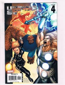 Ultimate Secrets # 4 NM Marvel Comic Books Iron Man Captain America Thor!!!! SW6