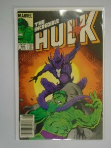 Incredible Hulk #308 Newsstand edition 5.0 VG FN (1985 1st Series)