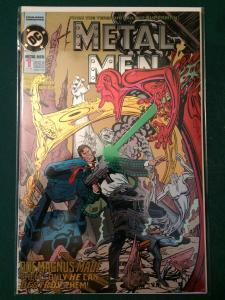 Metal Men #1 metallic cover