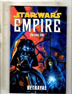 Betrayal Star Wars Empire Vol # 1 Dark Horse Comics TPB Comic Book Vader J348