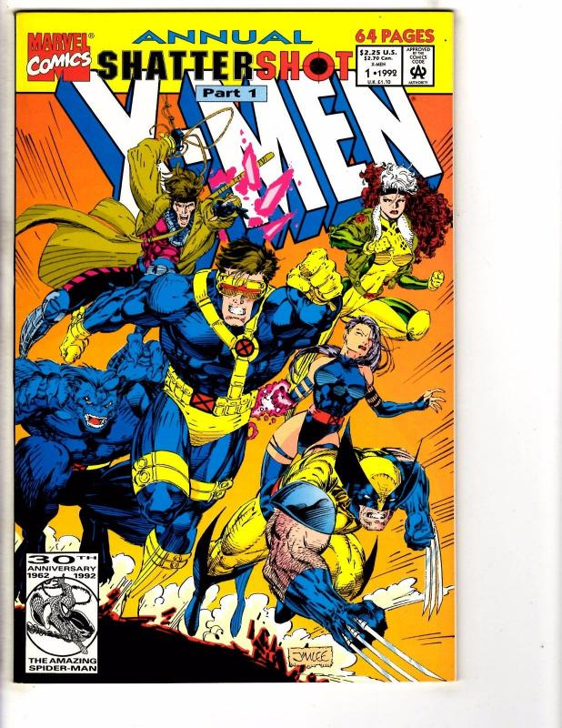 Lot Of 7 X-Men Marvel Comic Books # 1 2 (2) 3 95' 96' 97' Wolverine Gambit J203