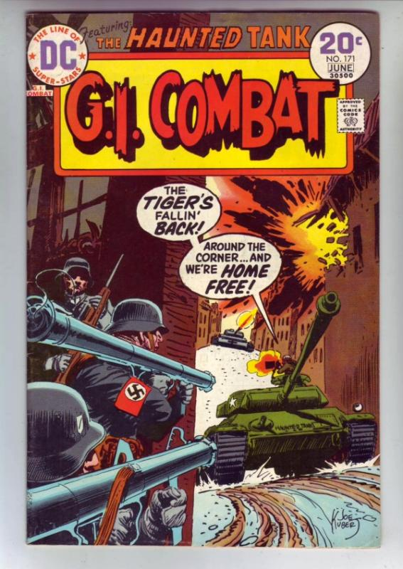 G.I. Combat #171 (Jun-74) NM- High-Grade The Haunted Tank