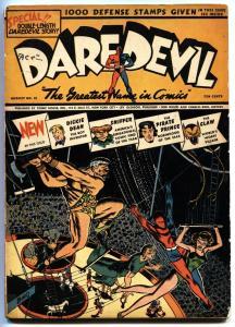 DAREDEVIL #12-1942-LEV GLEASON-ORIGIN OF THE CLAW-BASIL WOLVERTON-BIRO BIO