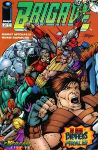 Brigade (1993 series) #3, NM- (Stock photo)