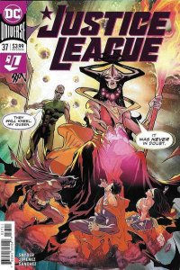 Justice League (2018 series) #37, NM + (Stock photo)