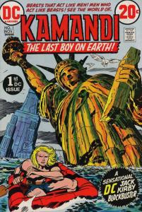 Kamandi, the Last Boy on Earth #1 FN; DC | save on shipping - details inside