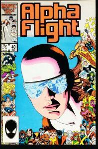 ALPHA FLIGHT #40-MARVEL COMICS-MUTANTS! NM