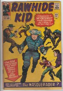 Rawhide Kid #49 (Dec-65) VG+ Affordable-Grade Rawhide Kid