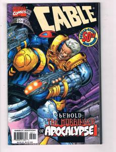 Cable #50 VF Marvel Comics Book Casey X-Men Apocalypse Jan 1998 DE22
