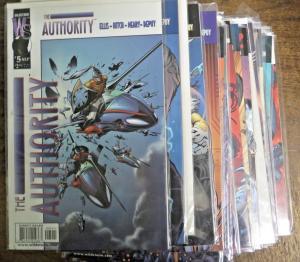 AUTHORITY Lot of 44 comic books Wildstorm DC Ellis Morrison Millar VF+ 1999-2009