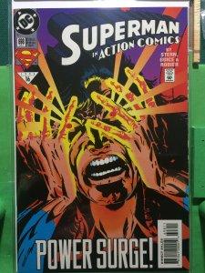 Superman in Action Comics #698