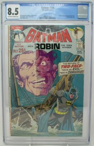 Batman # 234 ~ 1971 DC ~ CGC 8.5 VF+ ~ 1st Silver Age Two-Face