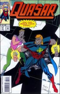 Marvel QUASAR #51 VF