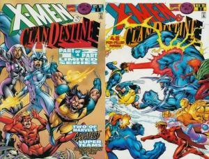 X MEN & CLANDESTINE (1996) 1-2  Complete!