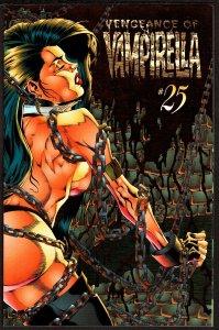 Vengeance of Vampirella #25 Red Foil Cover (Apr 1996, Harris)  9.2 NM-