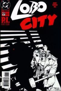 DC LOBO (1993 Series) #17 VF