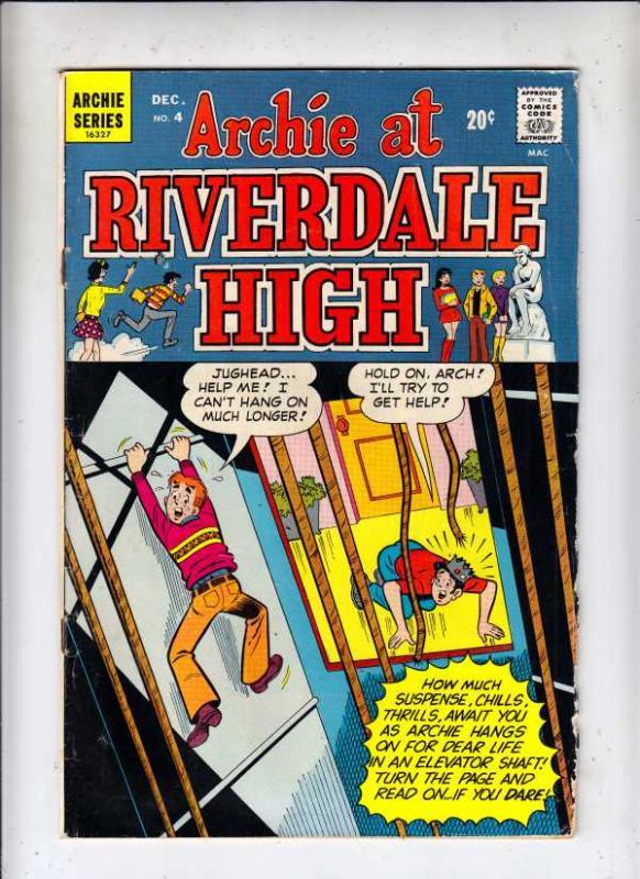 Archie At Riverdale High #4 (Dec-72) VG Affordable-Grade Archie