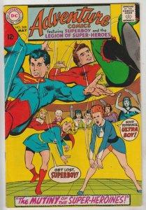 Adventure Comics #368 (May-68) VF/NM High-Grade Legion of Super-Heroes, Super...