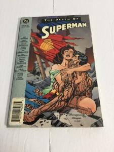 The Death Of Superman Tpb Nm Near Mint DC Comics