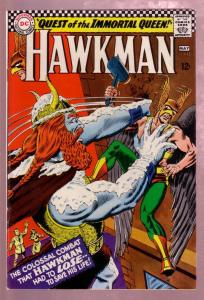 HAWKMAN #13 1966- QUEST OF THE IMMORTAL QUEEN-ANDERSON VG