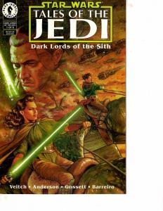 Lot Of 2 Comic Books Dark Horse Star Wars Mara Jade #5 and Tales of Jedi #1 ON12