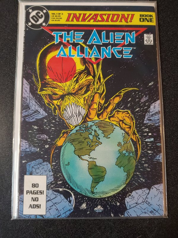 THE ALIEN ALLIANCE #1 (ONE OF TODD MCFARLANE'S FIRST COVERS)
