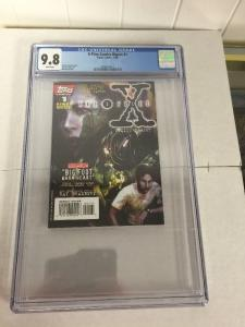 X-files Comics Digest 1 Cgc 9.8 White Pages Only One!!!! Very Hard To Find