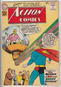 Action Comics #275 (Apr-61) FN+ Mid-High-Grade Superman, Supergirl