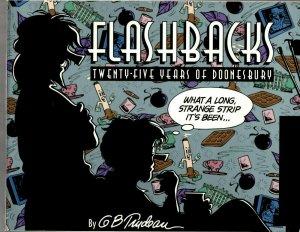 Flashbacks: Twenty-Five Years of Doonesbury AM Comics TPB Graphic Novel J24