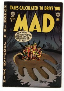MAD #6-1953-EC COMICS-HARVEY KURTZMAN-WALLY WOOD-JOHN SEVERIN-FN+