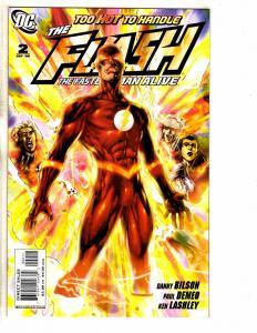 Lot Of 4 Flash DC Comic Books # 2 3 4 5 1st Prints Batman Superman Arrow J258