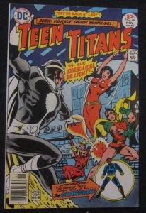 TEEN TITANS #44, VF, Wonder Girl, Dr Light, Robin, 1976, more TT in store