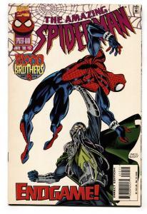 AMAZING SPIDER-MAN #412 low print run Comic Book NM-