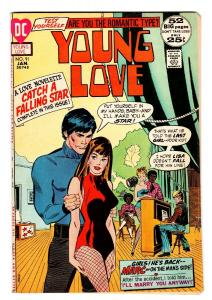 Young Love #91 comic book-Theater cover-DC Romance VF