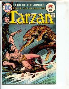 Tarzan-#236-1975-DC-BRONZE-AGE-Joe Kubert-NM-