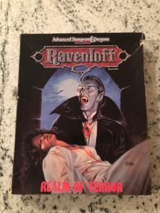 Ravenloft Advanced Dungeons & Dragons 2nd Edition Realm Of Terror Boxed Set  JW1
