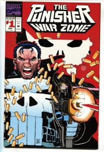 Punisher War Zone #1 First issue-Die-cut cover-NM-